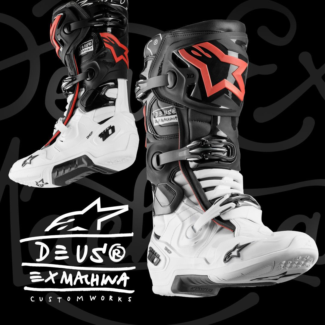 Alpinestars Tech 10 Limited Edition Deus Ex Machina Boots
