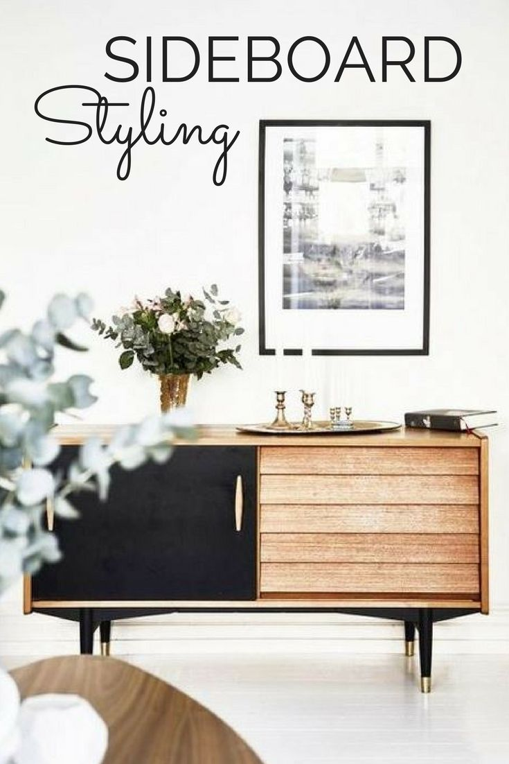 8 ways to style a sideboard via Daily Dream Décor | visit www.wishtank.co.za for more home décor ideas and inspiration ♥