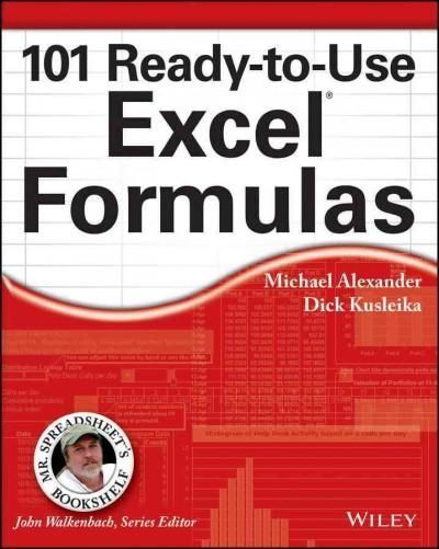 Mr Spreadsheet has done it again with 101 easy-to-apply Excel - spreadsheet formulas
