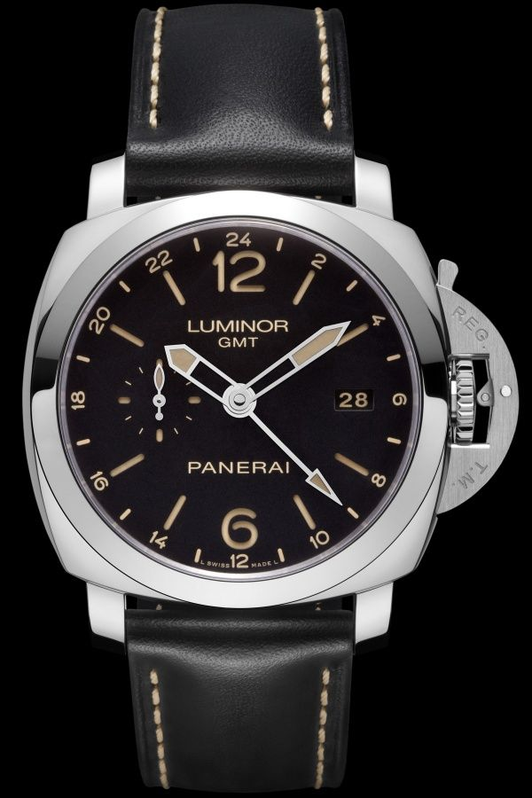 bf8571d31a2 Officine Panerai has released a new model equipped with the GMT 24H  function – the Panerai. Relógios MasculinosArtigosPanerai Luminor  1950Relógios ...