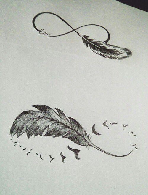 Pin de Jacqueline en Tattoo Pinterest Tatuajes, Tatuaje de pluma - tatuajes de plumas