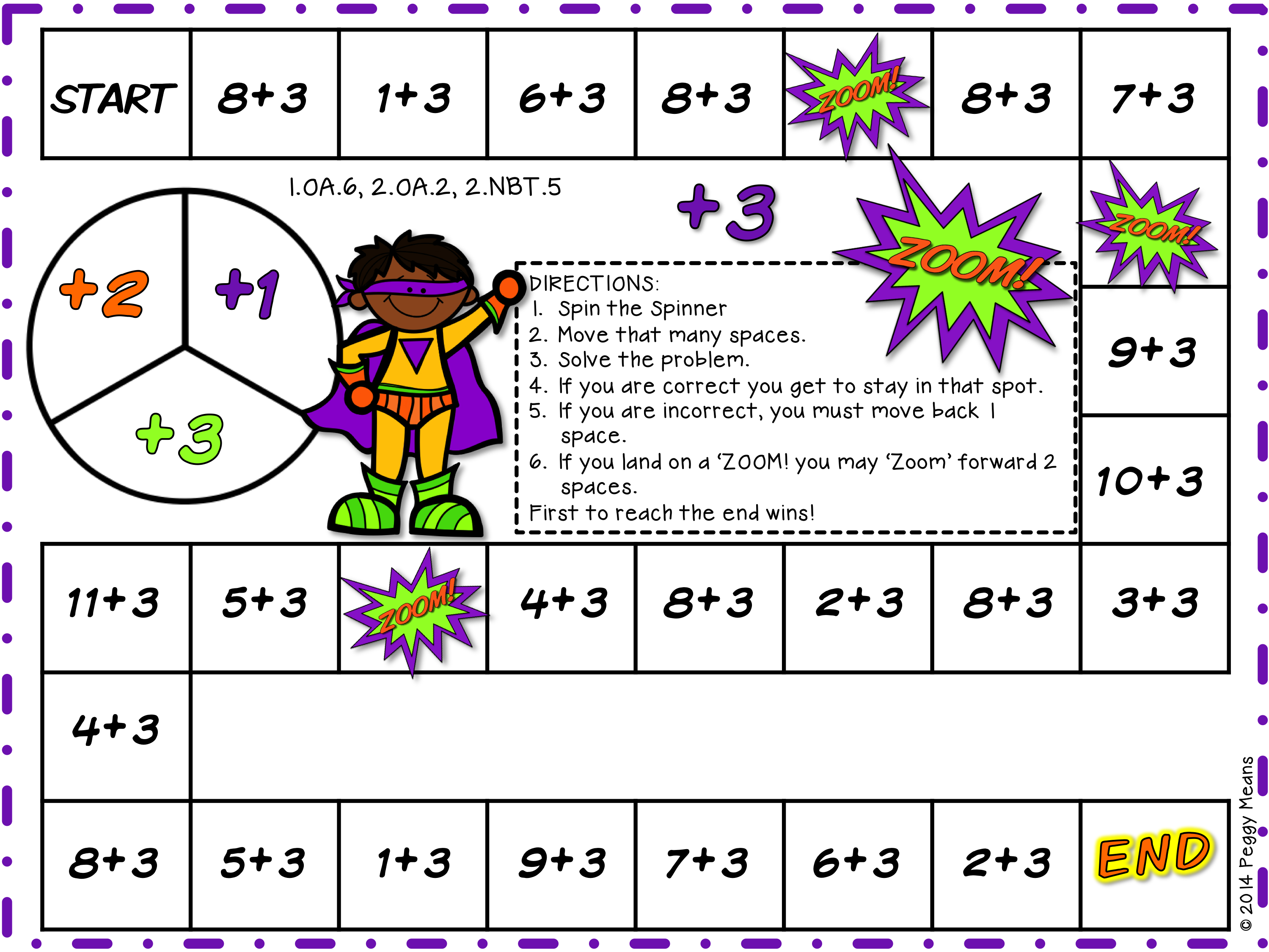 Math Fact Fluency Addition Games