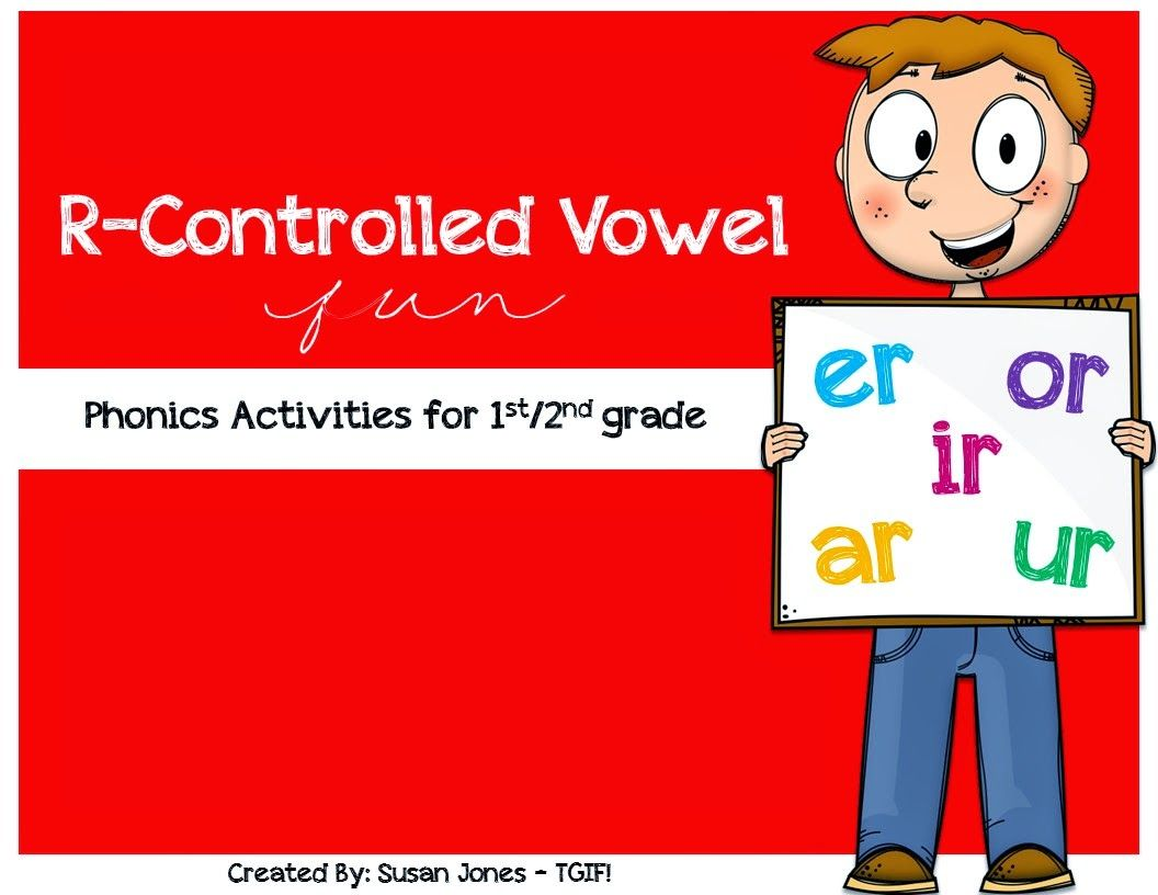 Workbooks ur worksheets : Free R-Controlled Vowel Activities! (Blog Hoppin') | Vowel ...