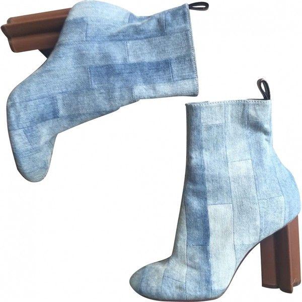 Boots en jean LV. t39 LOUIS VUITTON