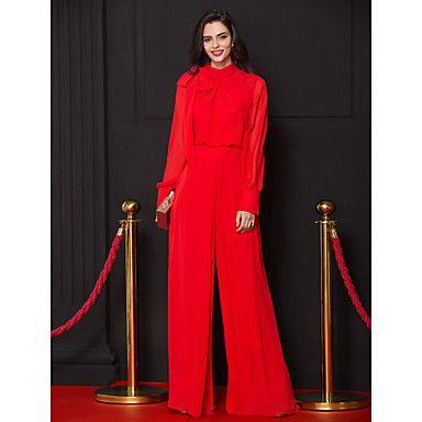 [$55.00] Jumpsuits Sheath / Column Celebrity Style Prom ...