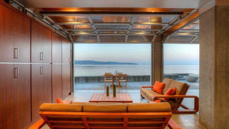 Esta bela casa foi projetada para resistir a um tsunami