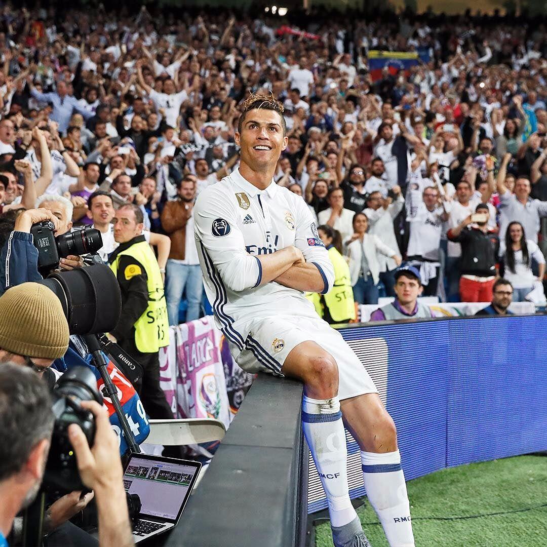 Cristiano Ronaldo Real Madrid vs Atleti 2017 Champions League semifinals