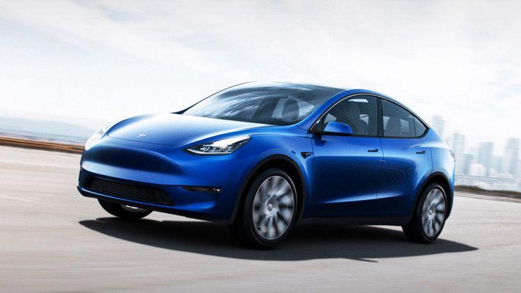 Elon Musk Unveils Tesla S Model Y Mashable Tesla Model New Tesla Tesla