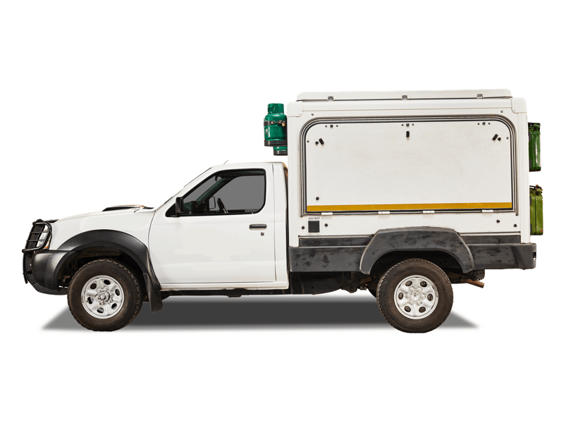 Mtx Nissan Single Cab 4x4 Trax Camper For Hire Drive South Africa Trax Camper Cab