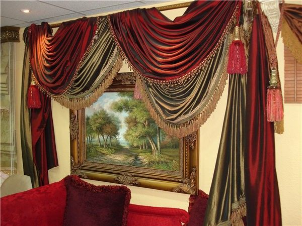 Arabic Style Luxury Curtains And Drapes Curtains
