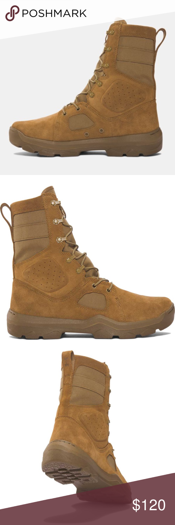 New Under Armour Men S Fnp Coyote Military Boots Nwt Military Boots Boots Under Armour Shoes