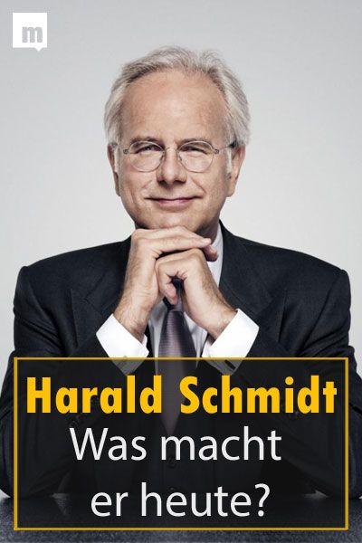 Was Macht Harald Schmidt