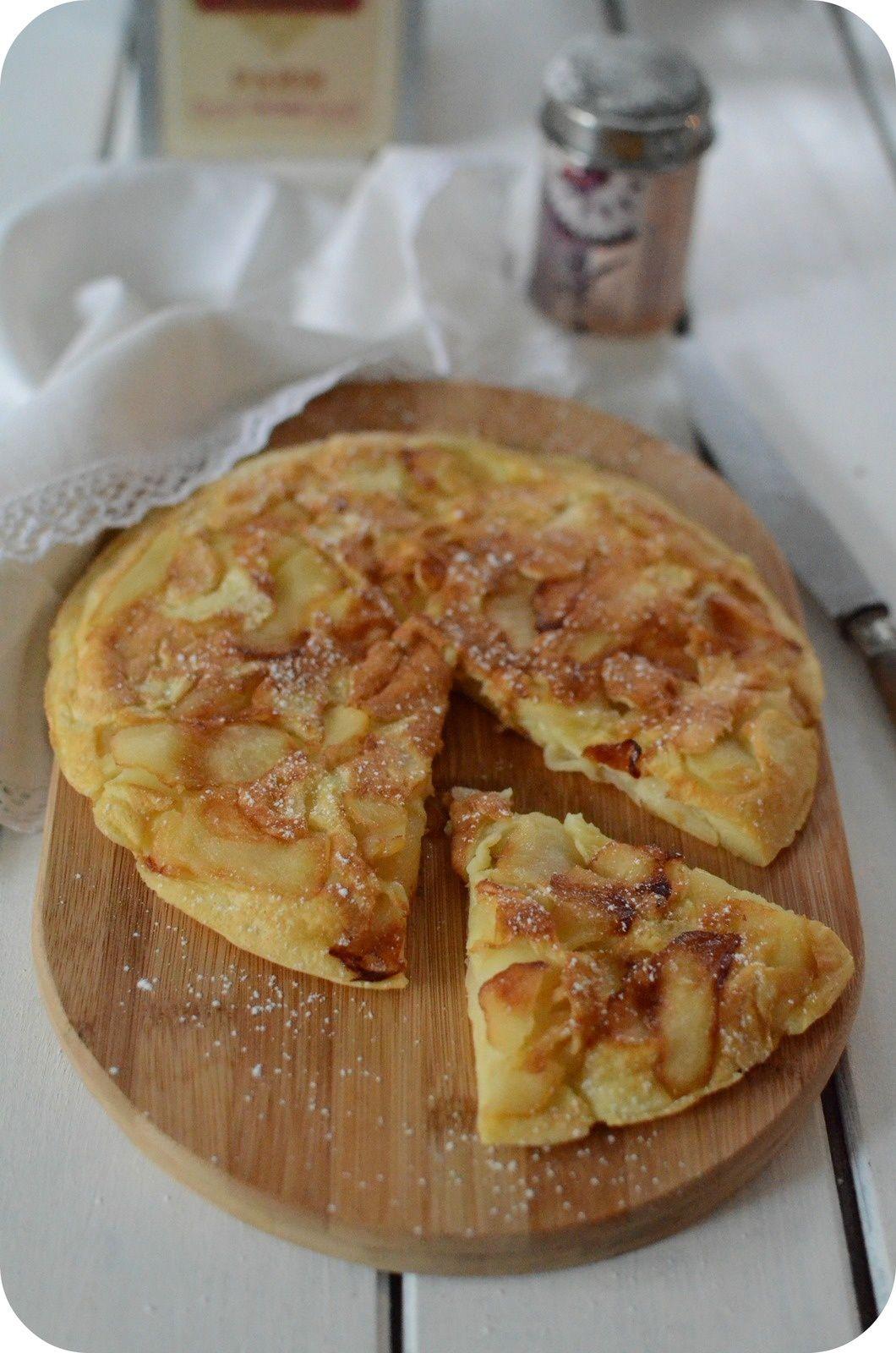 Cr pes aux pommes notes sucr es recettes de grand mere - Recette crepe grand mere ...