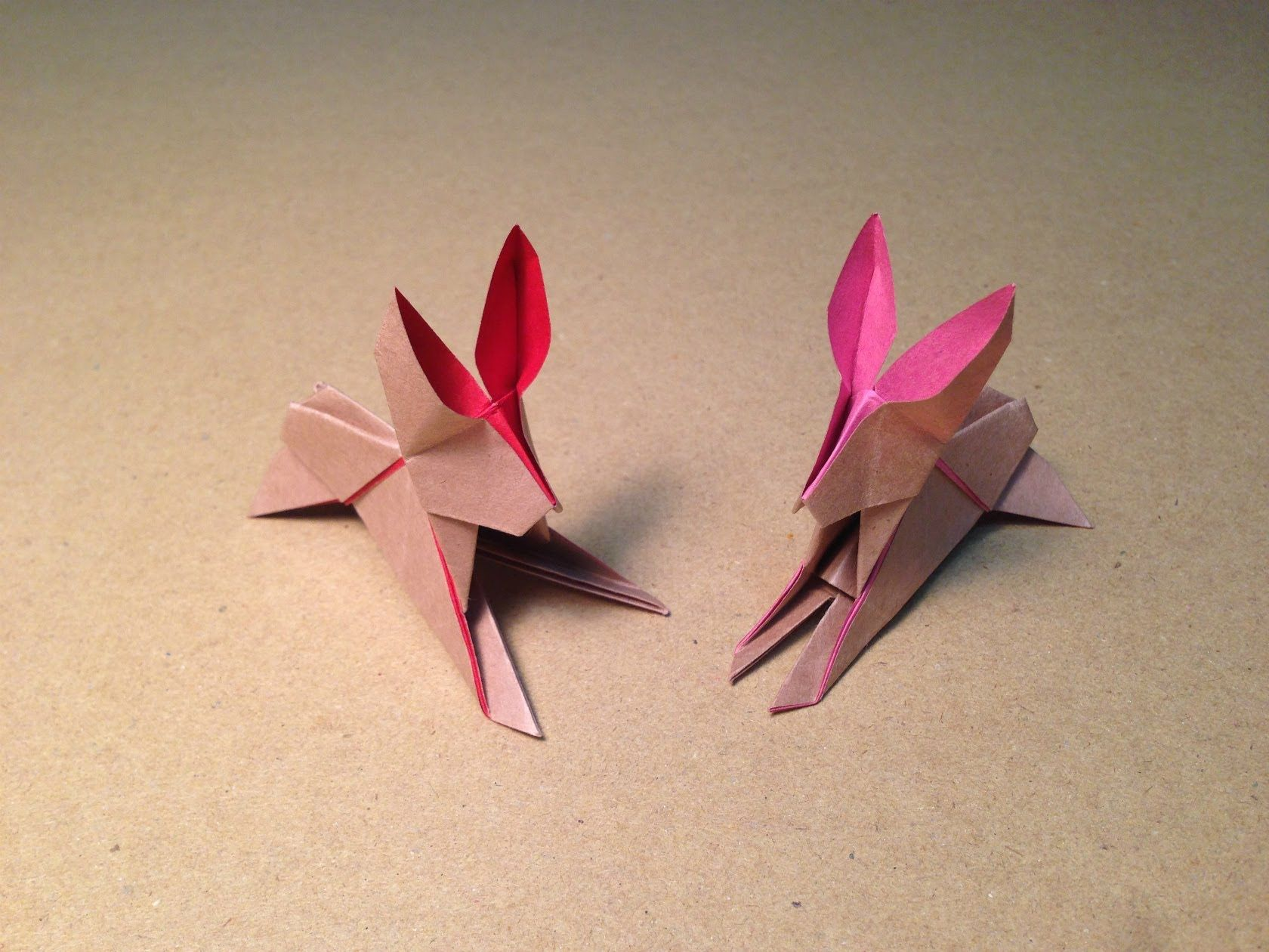 How to make an origami rabbit instructions tutorial designed by how to make an origami rabbit instructions tutorial designed by kunihiko kasahara tutorial by jeuxipadfo Image collections