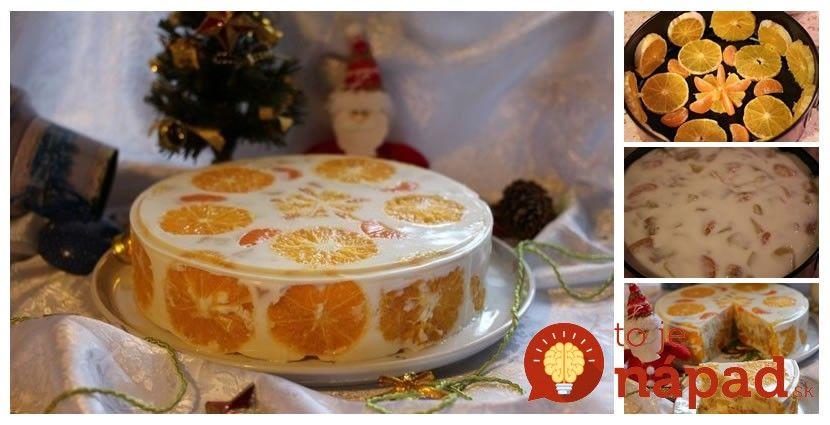 """Túto tortu tiež voláme """"zimná torta"""" pre jej nádhernú snehobielu farbu avôňu ovocia, ktorá nám pripomína, že najkrajšie sviatky vroku sa nezadržateľne blížia. Vyskúšajte aj vy túto neodolateľnú smotanovú pochúťku!  Potrebujeme:  Na cesto:    3 vajcia    ½ šálky kryštálového cukru    1 …"""