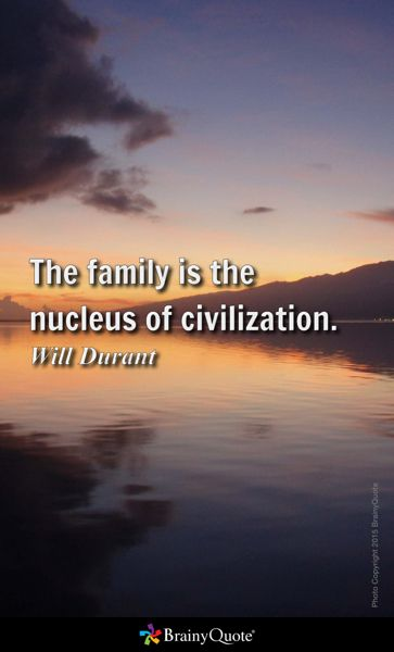 the family is the nucleus of civilization essay Ancient egypt: ancient egypt, civilization in northeastern africa  egyptian is closest to the family's semitic branch but  forming the nucleus of collections.