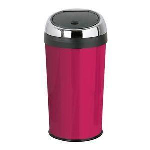 Pink Kitchen Accessories- 30L Touch Top Bin - Hot Pink | Kitchen ...