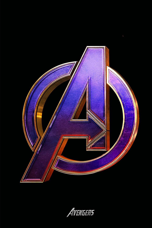 avengers logo Wallpaper iphone in 2020 Avengers logo