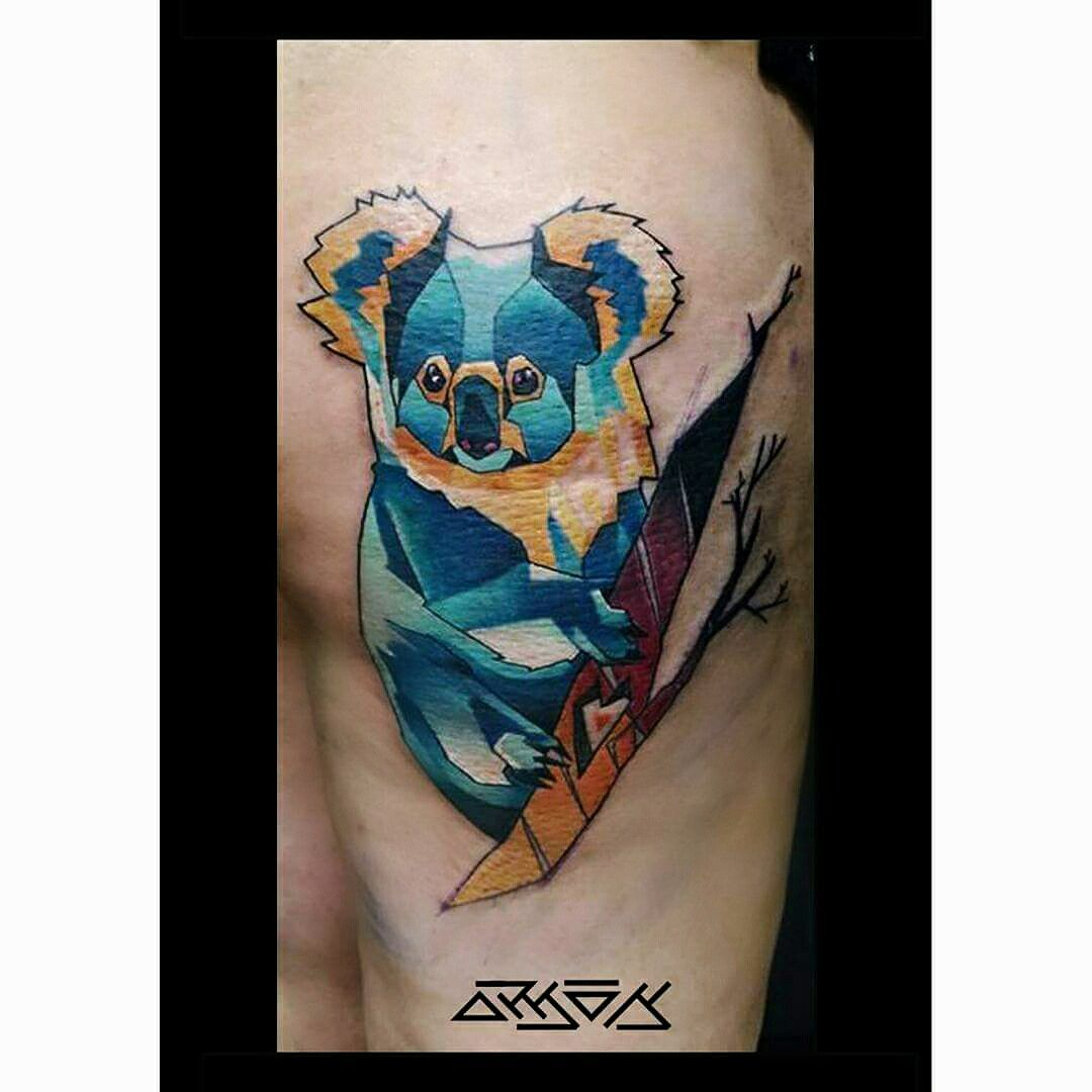 pictures 30 Koala Tattoo Designs For Men – Wild Animal Ink Ideas