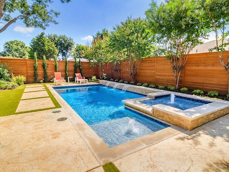 Geometric Pool Builder Dallas is part of Geometric pool, Swimming pools backyard, Backyard pool designs, California backyard, Pool landscaping, Pool photos - Riverbend Sandler Pools offers Geometric Pool Designs Dallas, Frisco and surrounding areas that homeowners can be proud of