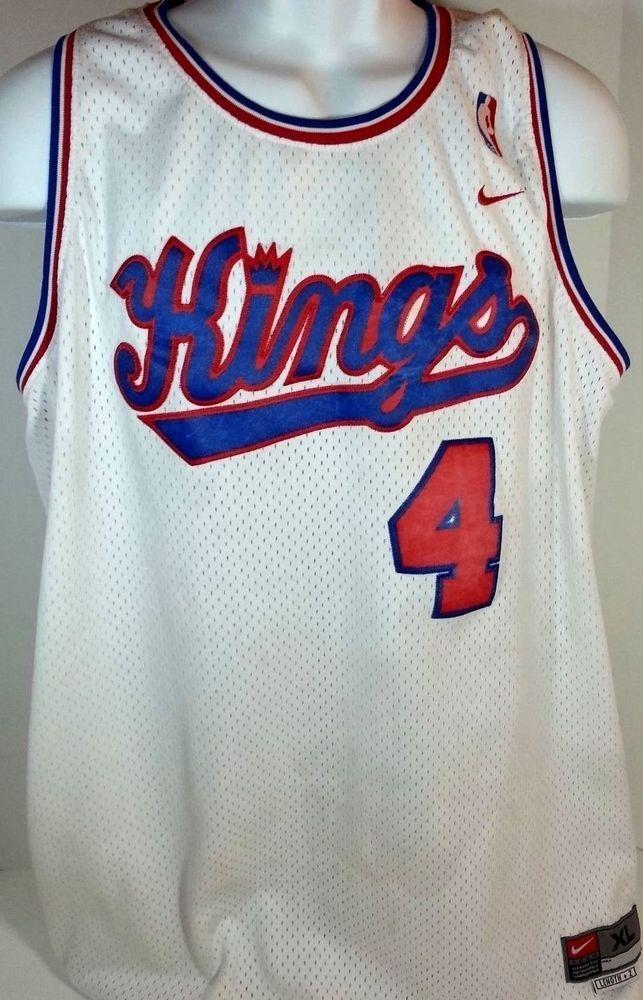 Sacramento  Kings  ChrisWebber Nike  NBA  Basketball Jersey XL Sewn  4   Nike  SacramentoKings  577e3d730