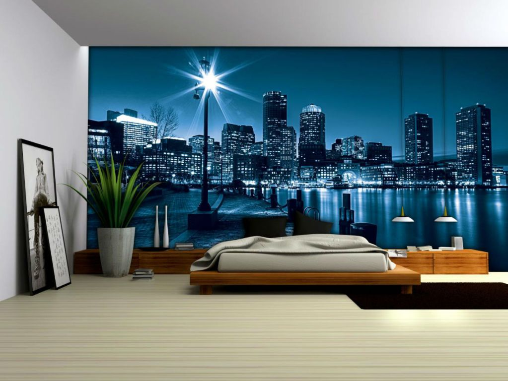 our wall murals are typically printed using our high-resolution