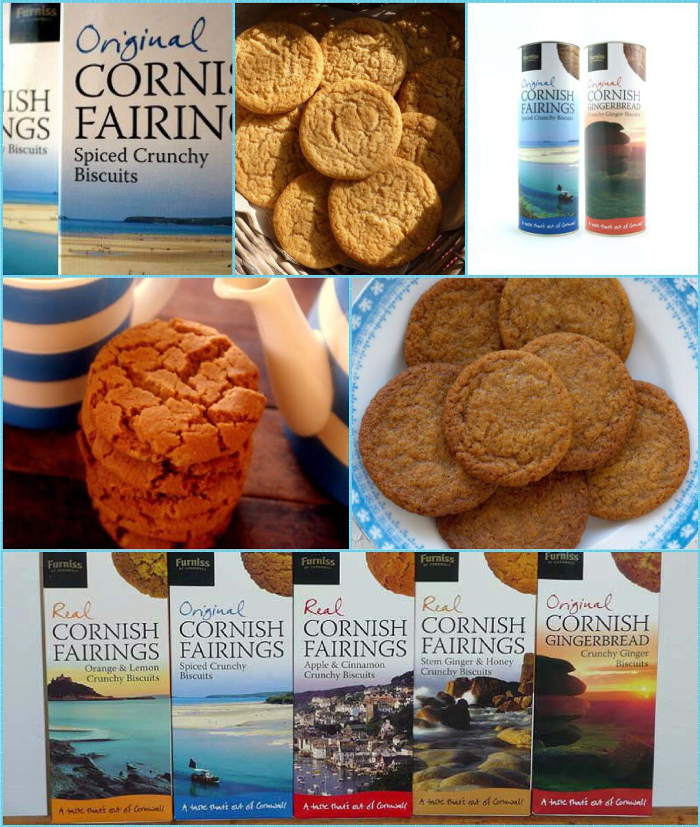 A Cornish fairing is a type of traditional ginger biscuit
