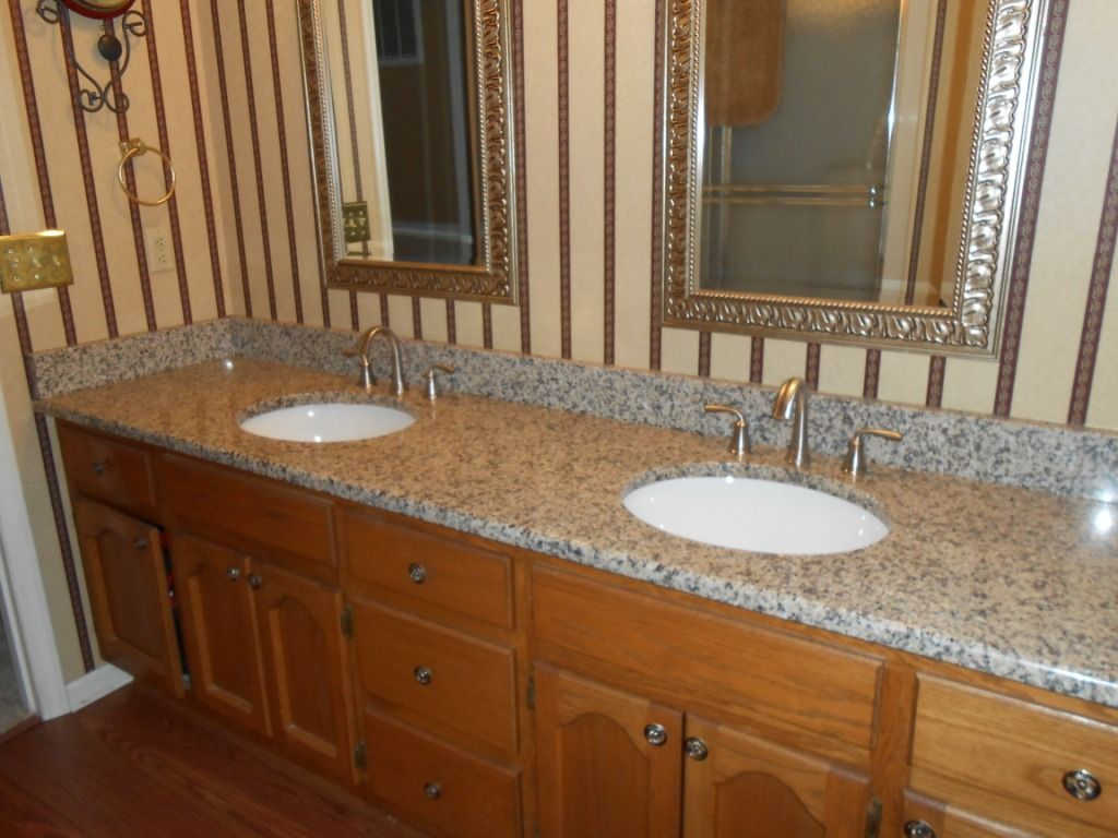 Creme Caramel Granite Medium Kitchen Cabinets Visit Us At Http Www Fireplacecarolina Com To See Our Granite Co Wooden Vanity Wooden Drawers Wooden Cabinets