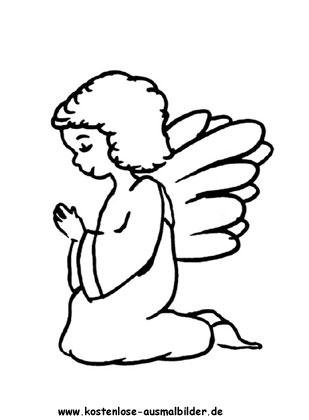 Ausmalbild Engel Engel Zum Ausmalen Ausmalbilder Ausmalen