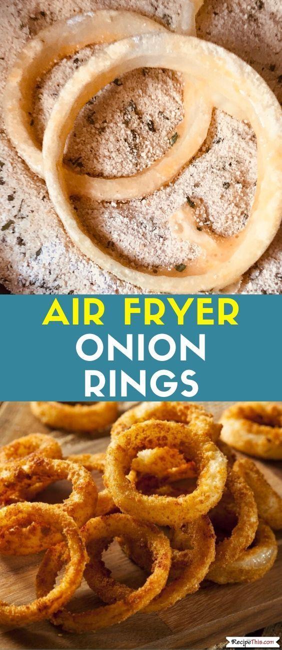 Flourless Air Fryer Onion Rings Recipe This