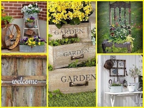 Rustic Garden Decor Ideas Diy