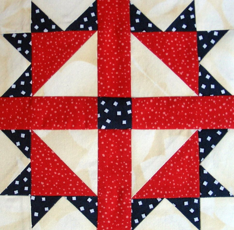 Fourth of July Quilt Block | QUILT BLOCKS | Pinterest | Barn ... : fourth of july quilt pattern - Adamdwight.com