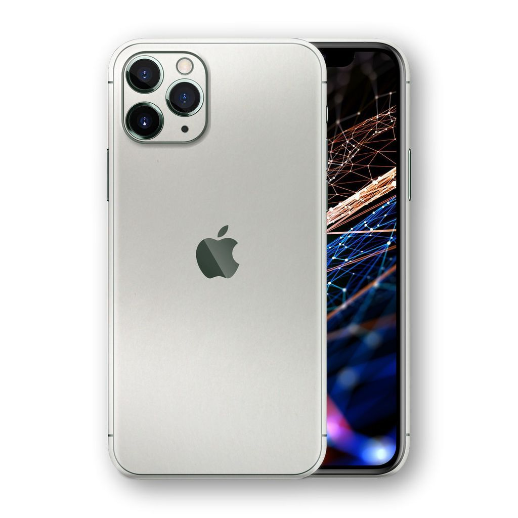 Iphone 11 Pro Max Satin Pearl White Skin In 2020 Iphone Iphone