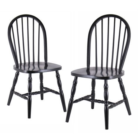 Windsor Chairs 2 Piece Shopko Windsor Dining Chairs Solid Wood Dining Chairs Chair