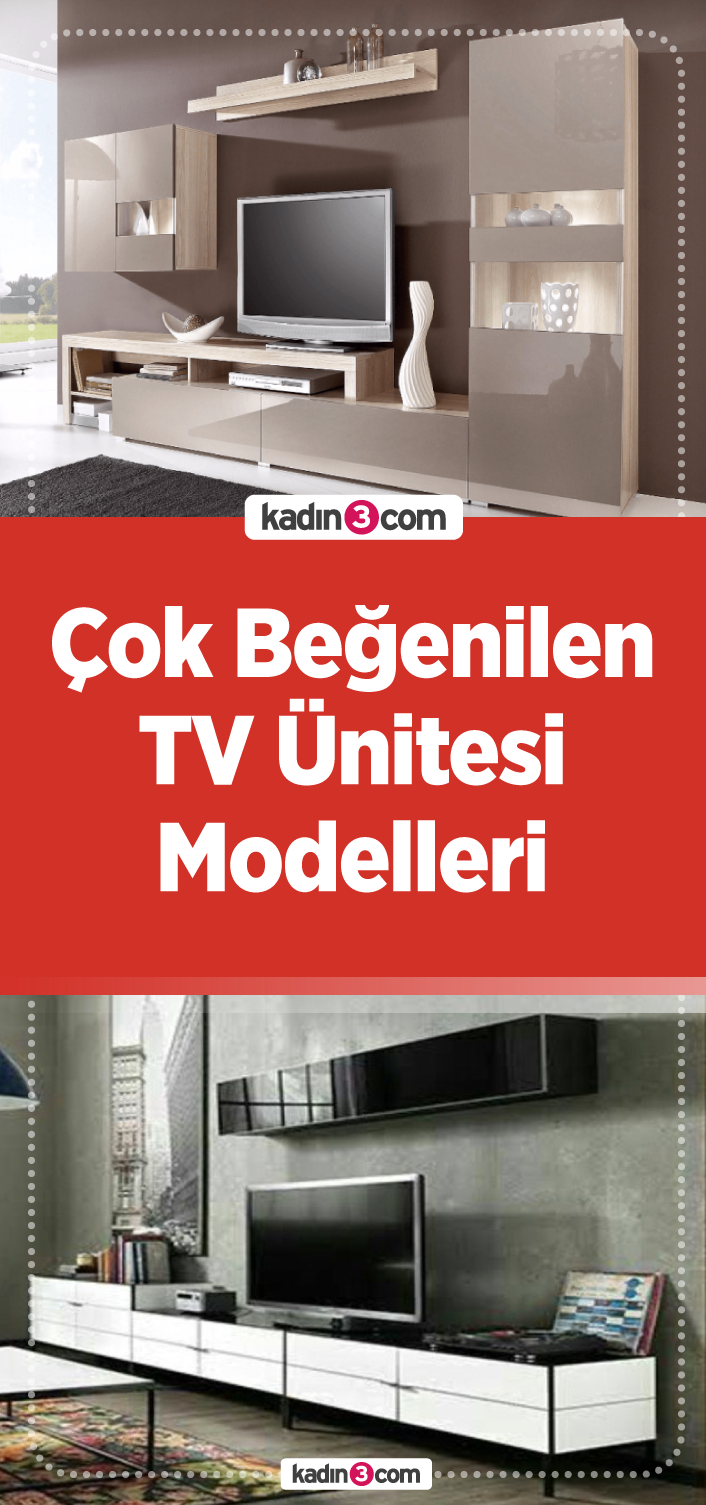Çok Beğenilen TV Ünitesi Modelleri