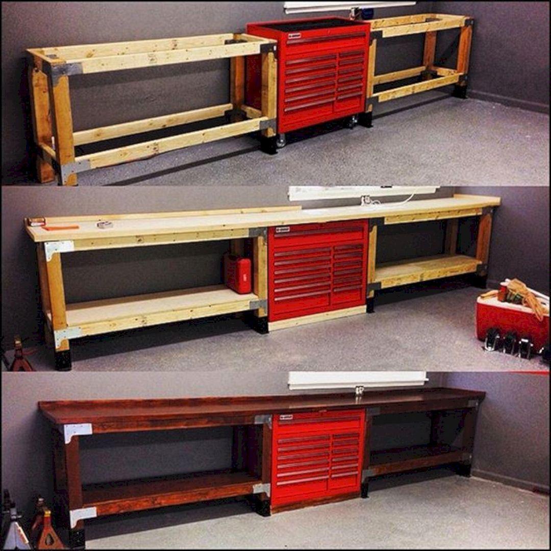 Good Ideas About Garage Workbench No 32 Decoration Garage Interieur De Garage Rangement Outils