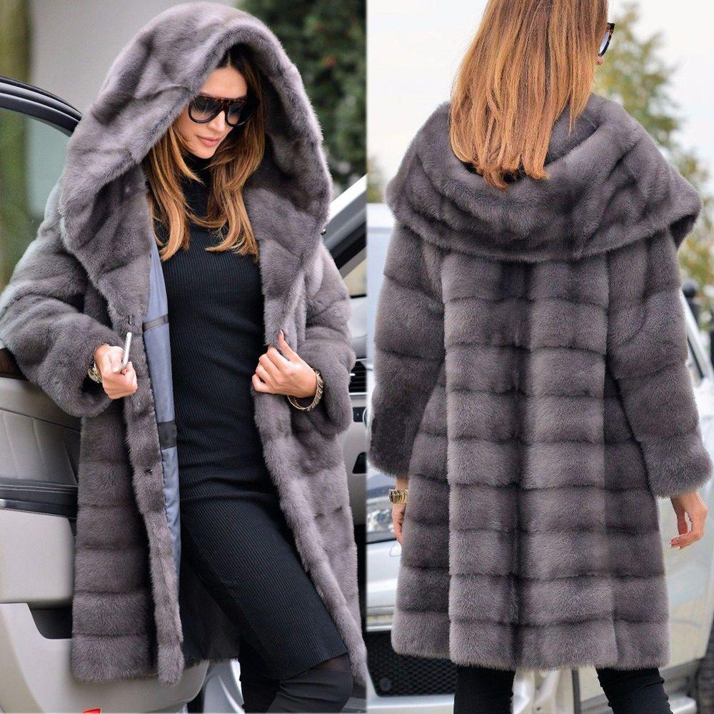 Abrigos de piel con capucha