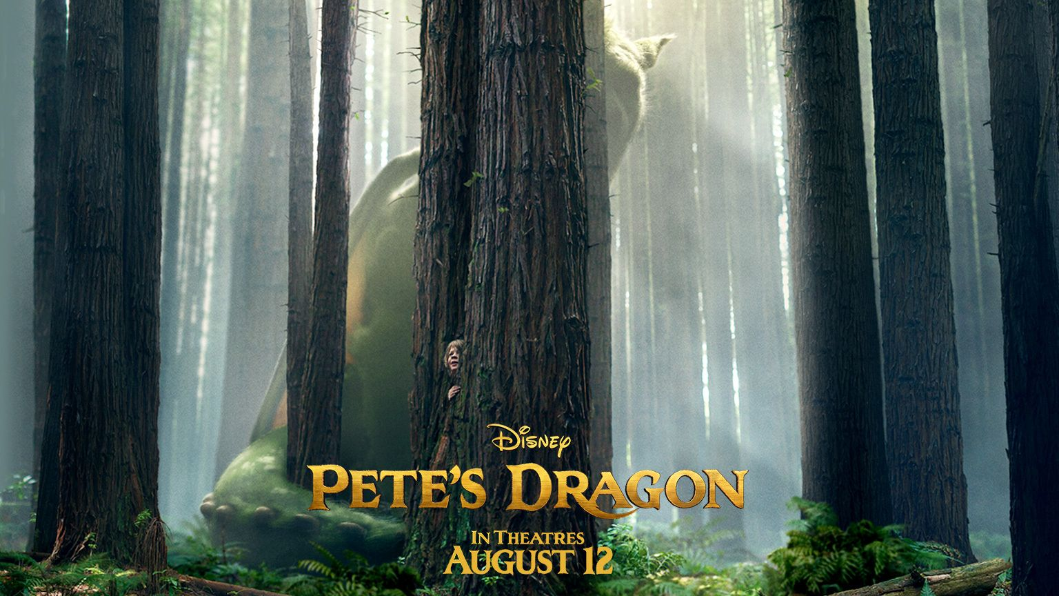 Pete's Dragon 2016 Movie Poster | Pete's Dragon - Motion Poster ...