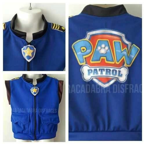 Resultado de imagen para chase paw patrol disfraz