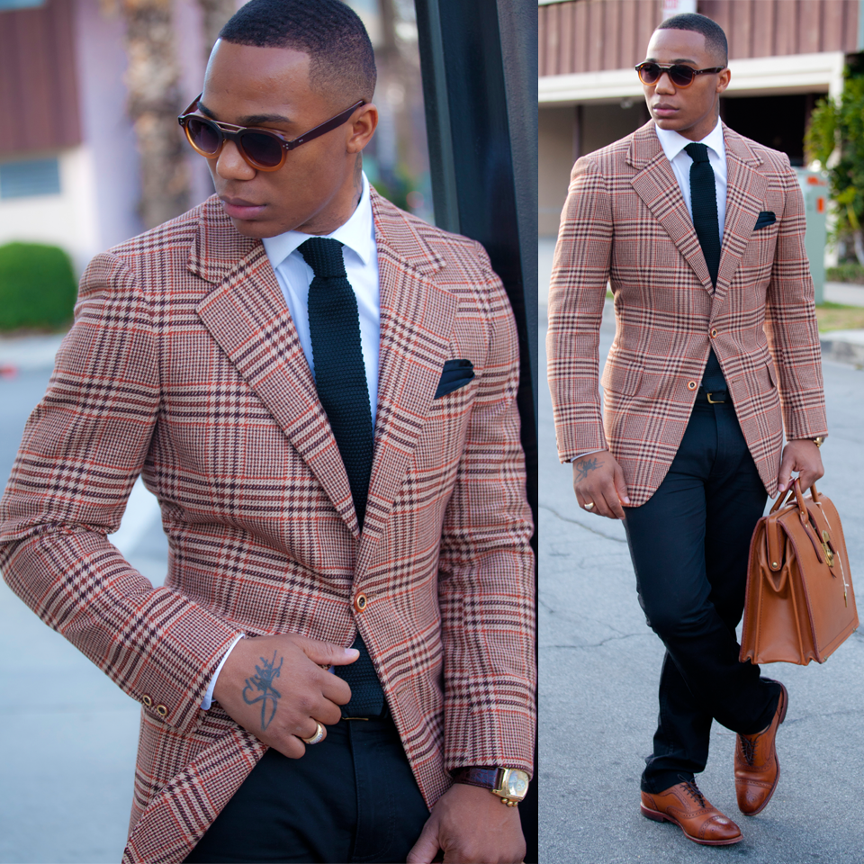 Beige Red And Black Men In Suit Men 39 S Fashion