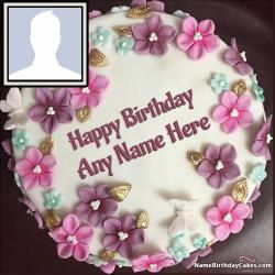 Photo Birthday Cake With Name A New Way To Wish Online On