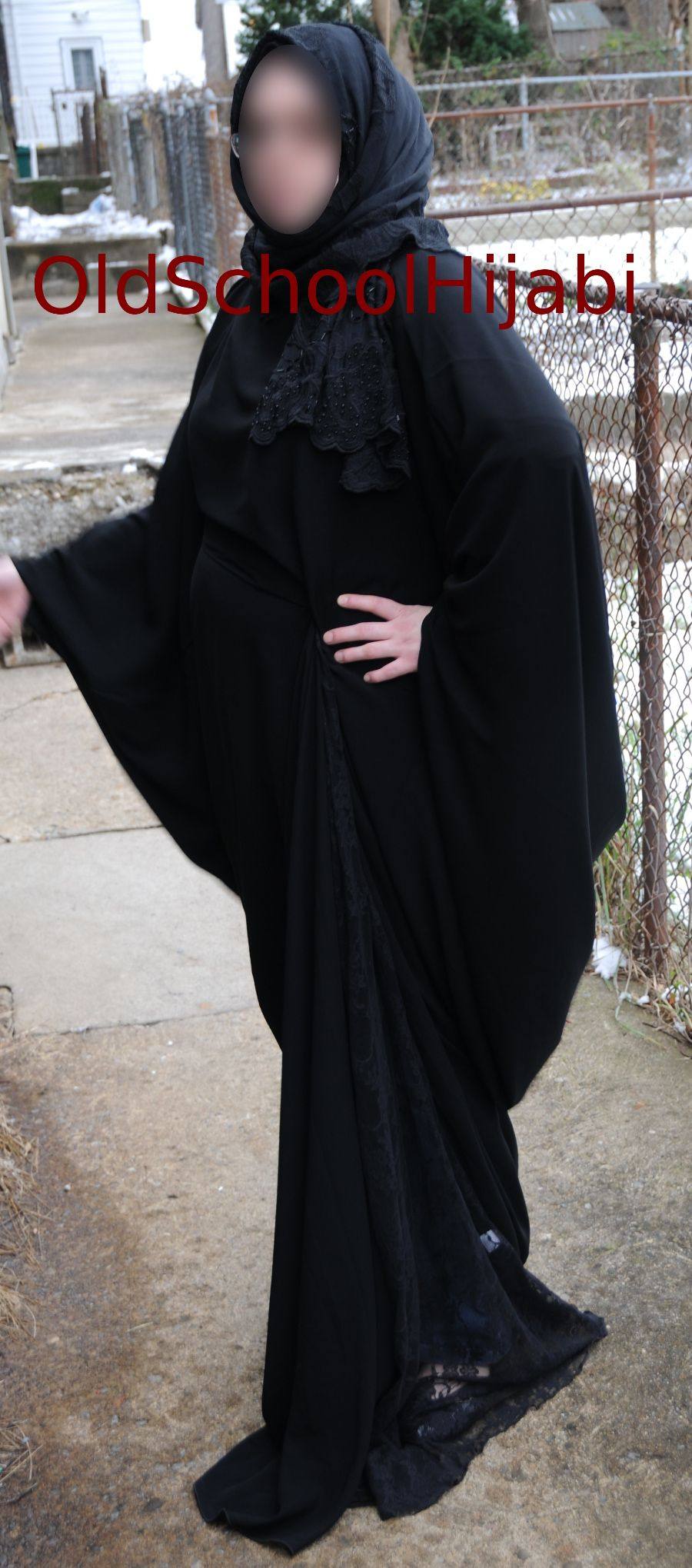 Fancy party abaya designed by Sophia Shaikh from Islamic ...