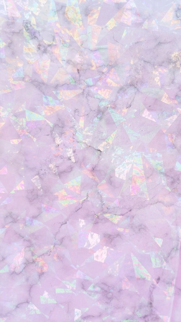 Really Cute Iphone Wallpaper Background Marble Holo Iridescent