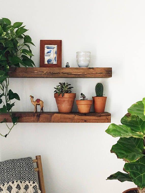 Wood Floating Shelf Floating Shelf Wall Shelves Wall Shelf Shelf