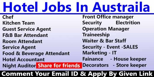 Hotel Jobs In Australia Submit Your Cv Now Hotel Jobs Guest Service Agent Job