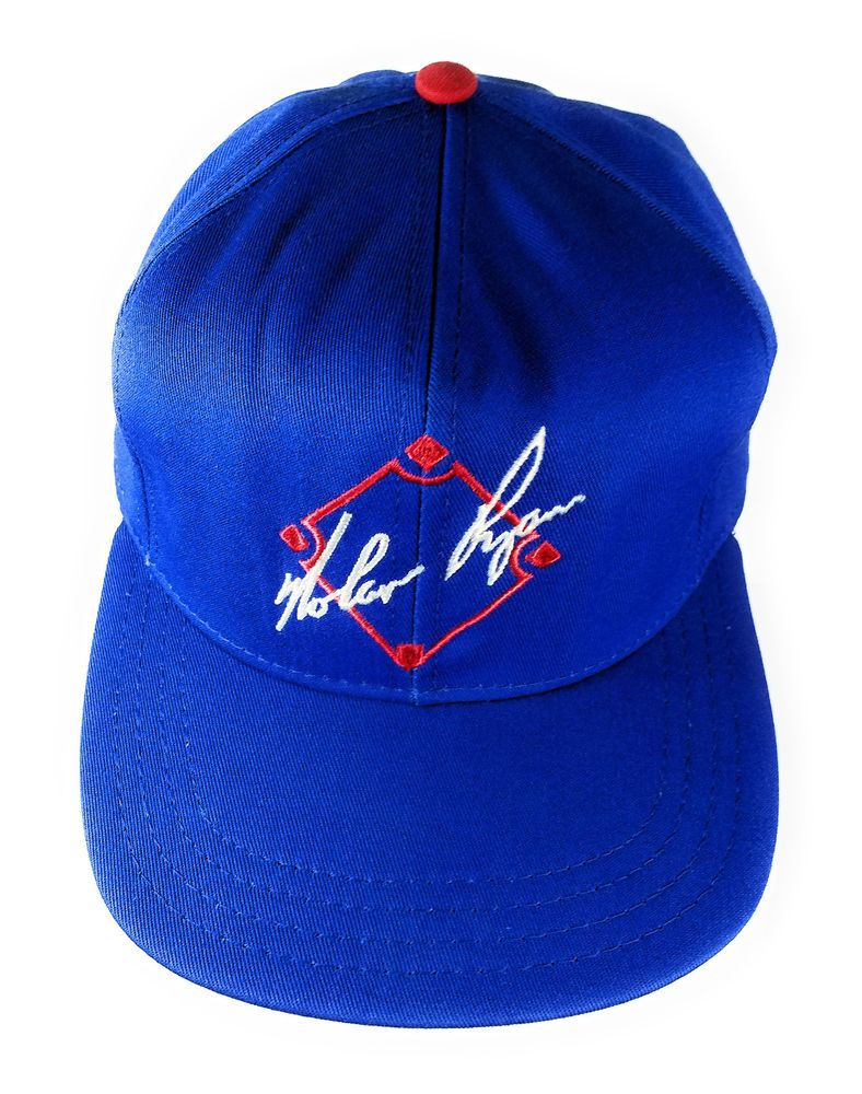 Pin by Stephen Brown on My Ebay Listings | Baseball Cap, Nolan ryan