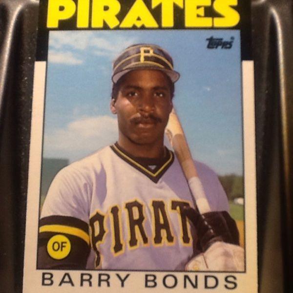 For Sale Barry Bonds Rookie For 25 Barry Bonds Baseball Cards Baseball Cards For Sale