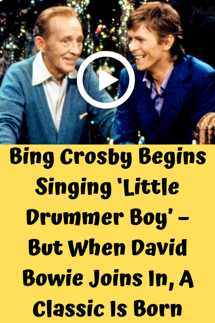 Peace on Earth / Little Drummer Boy is a Christmas song with an added counterpoint performed by ...
