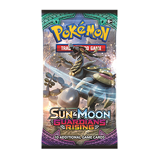 Pokemon Booster Pack (10 Cards) - Sun and Moon Guardians Rising