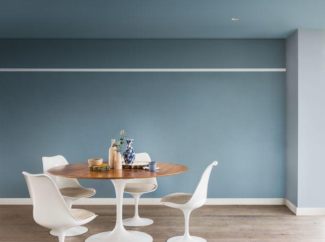Salle a manger bleu gris Stue Pinterest Cameras - salle a manger louis